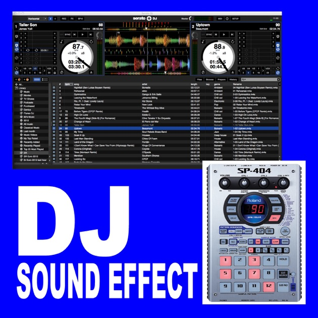 DJ Sound Effect (Intro DJ Club Radio Fx Tools Partybreak and Sample