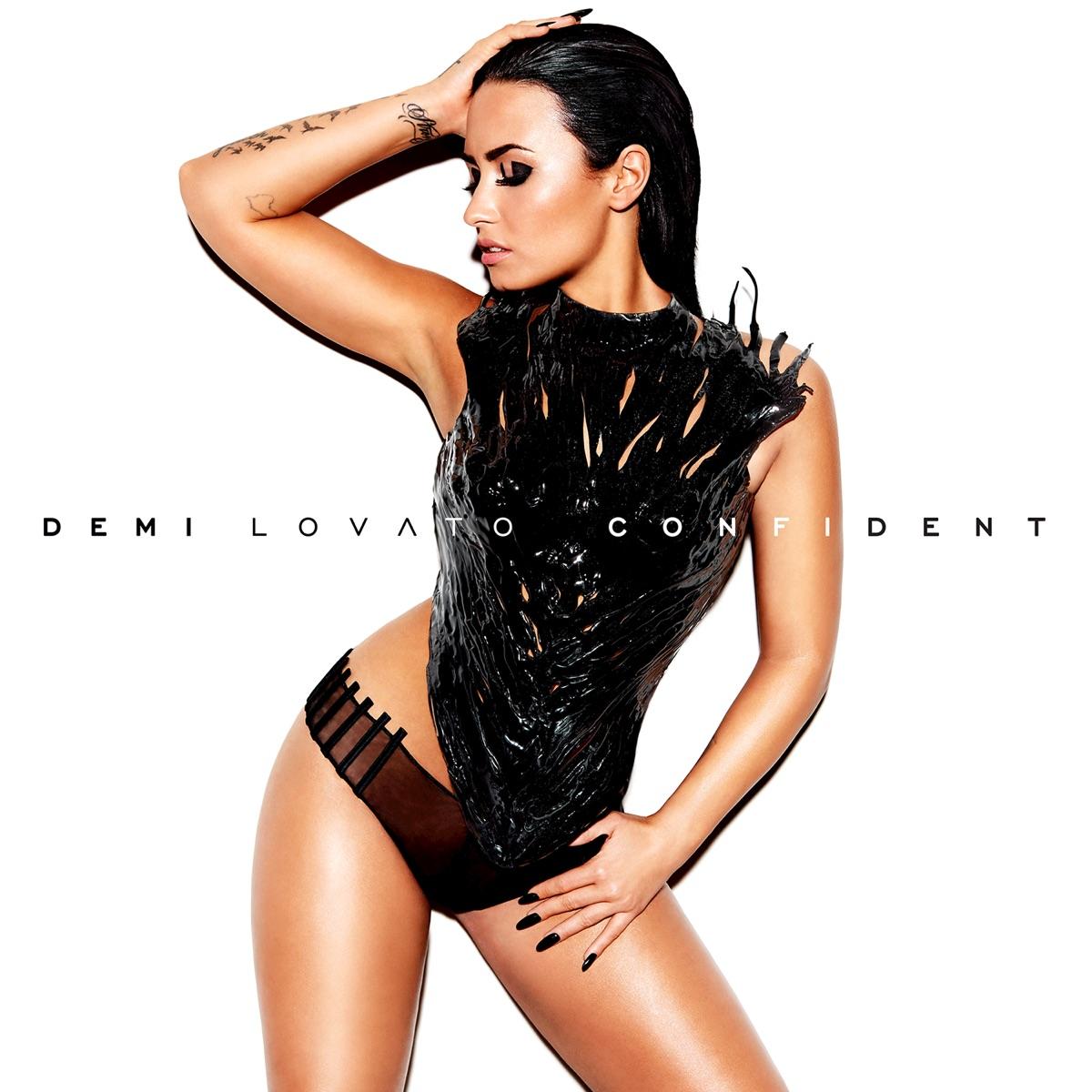 Confident Demi Lovato CD cover