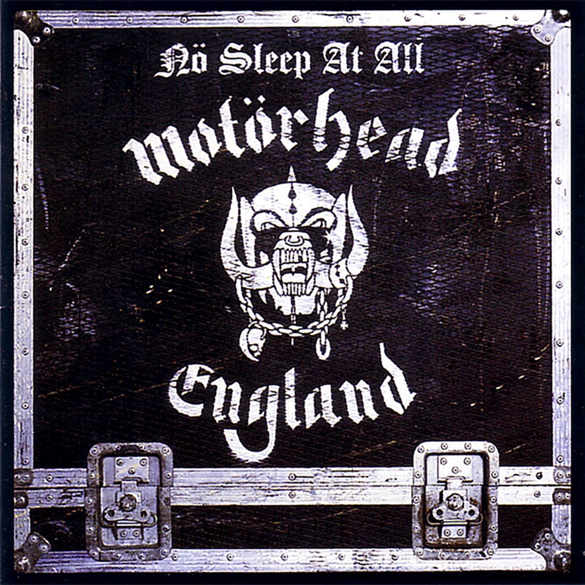 No Sleep At All Album Cover by Motörhead