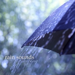 Slow Piano Music with Sounds of Rain