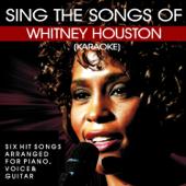 Sing the Songs of Whitney Houston (Karaoke)