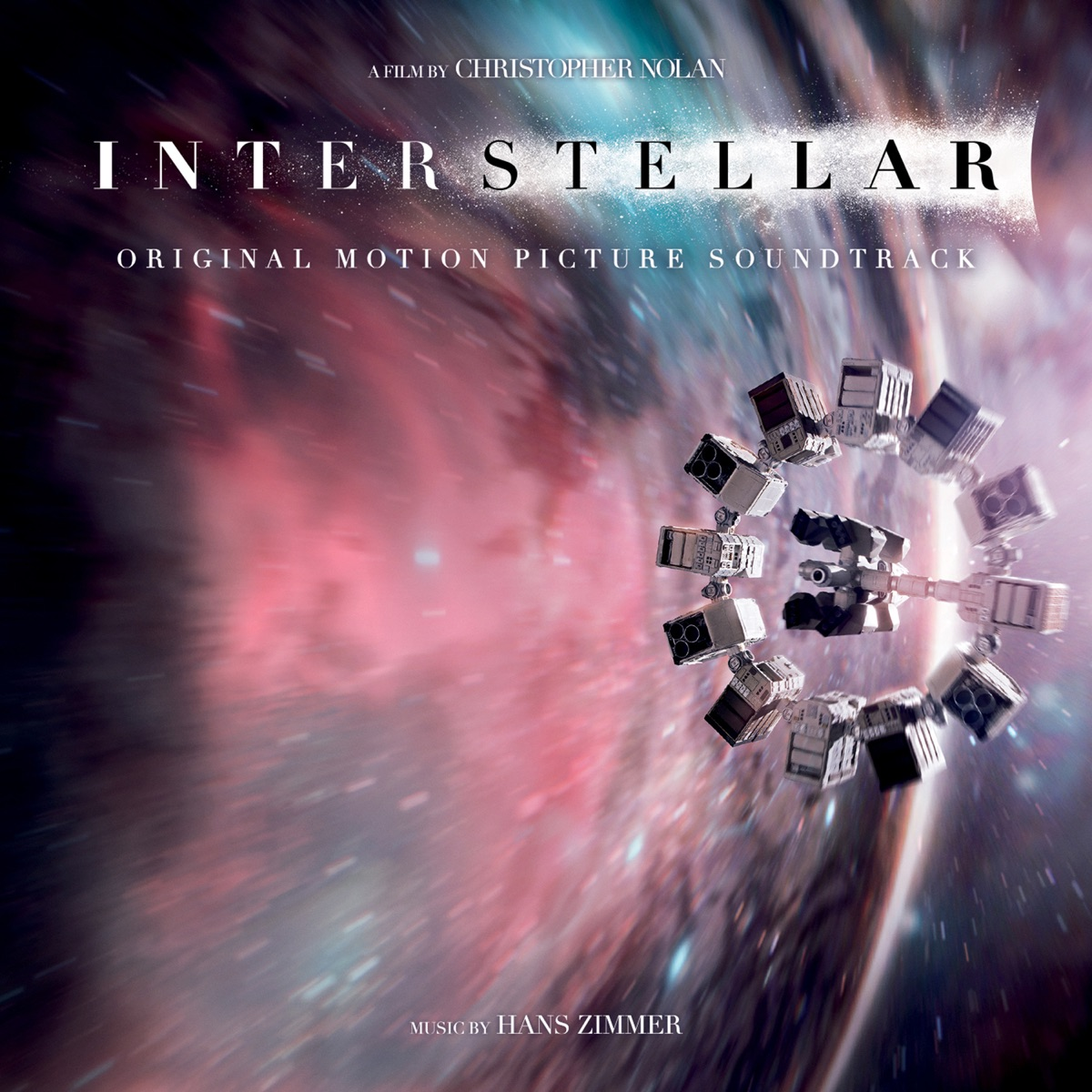 Interstellar Original Motion Picture Soundtrack Deluxe Version Hans Zimmer CD cover
