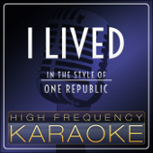 I Lived Instrumental Version  High Frequency Karaoke - High Frequency Karaoke