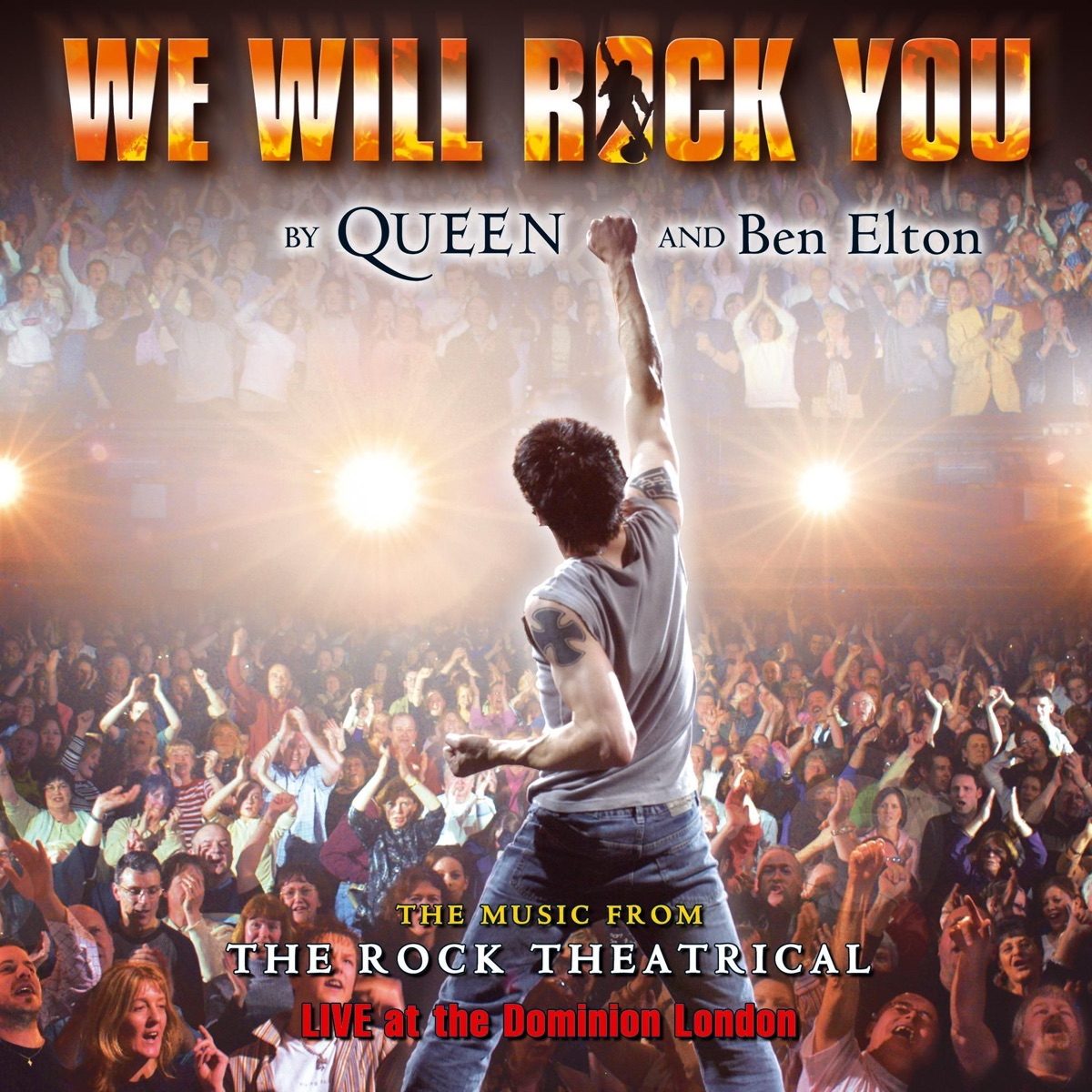 We Will Rock You Cast Album The Cast of We Will Rock You CD cover