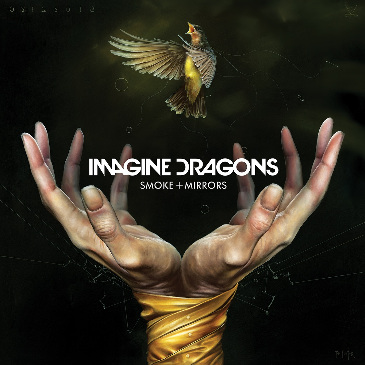 Smoke  Mirrors Imagine Dragons CD cover