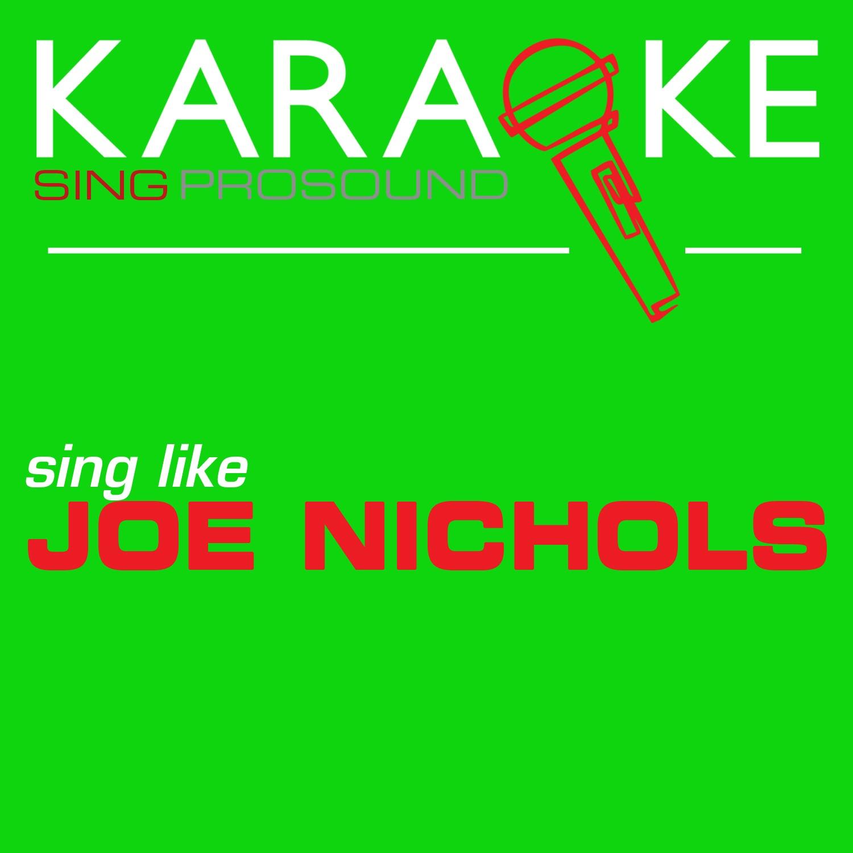 Karaoke in the Style of Joe Nichols - EP