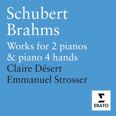 Schubert & Brahms: Works for 2 Pianos & Piano 4 Hands