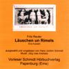 Fritz Reuter - Läuschen un Rimels. Eine Auswahl Grafik