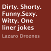 Lázaro Droznes - Dirty. Shorty. Funny. Sexy. Witty. One liner jokes (Unabridged)  artwork