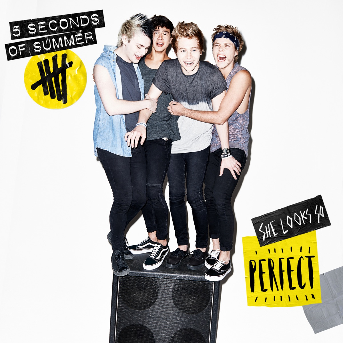 She Looks So Perfect - Single Album Cover by 5 Seconds of Summer