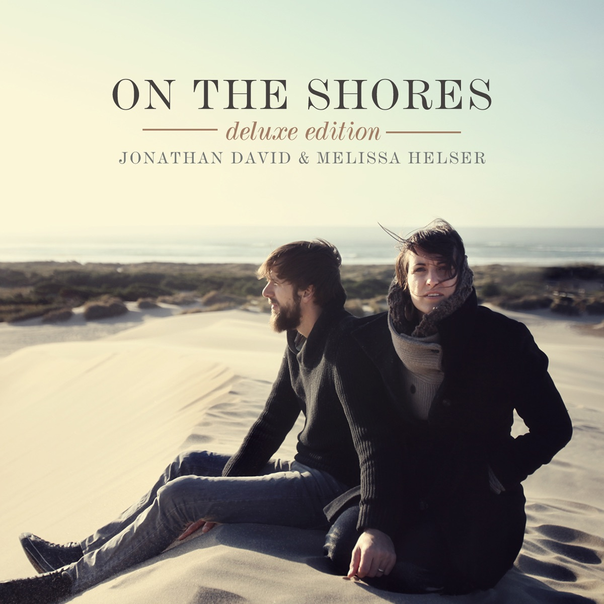 On the Shores Deluxe Edition Jonathan David  Melissa Helser CD cover