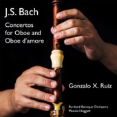 Gonzalo X. Ruiz, Portland Baroque Orchestra - Concerto for Oboe in G Minor, BWV 1056R: II. Largo