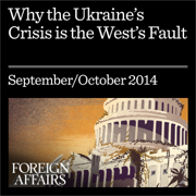 Why the Ukraine Crisis Is the West's Fault: The Liberal Delusions That Provoked Putin (Unabridged)