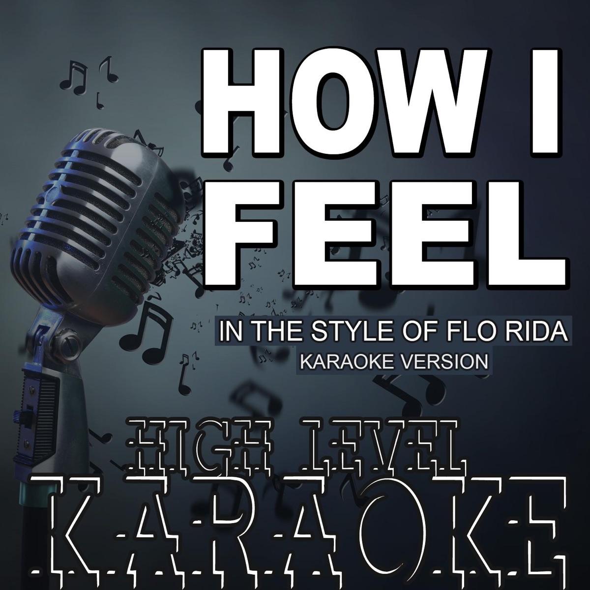 How I Feel Album Cover by High Level Karaoke