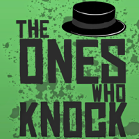 Podcast cover art for The Ones Who Knock - A Breaking Bad Podcast