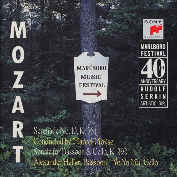 Mozart: Serenade, K. 361; Sonata for Bassoon & Cello, K. 292 (Live)