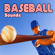 Baseball Hardball Hit with a Wooden Bat - Sound Ideas