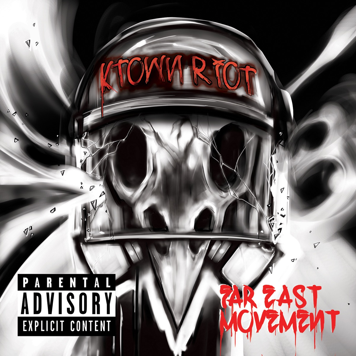 KTown Riot - EP Album Cover by Far East Movement