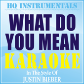 What Do You Mean? (Instrumental / Karaoke Version) [In the Style of Justin Bieber]