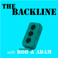 Podcast cover art for The Backline - An Improv Podcast