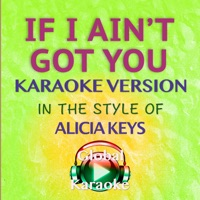 If I Ain't Got You (In the Style of Alicia Keys) [Karaoke Version] - Single