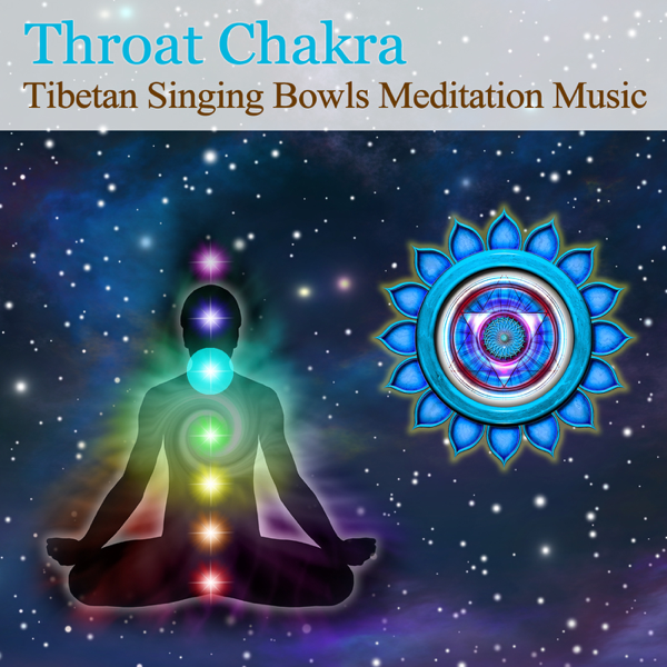 ‎Tibetan Singing Bowls Meditation Music for Chakra Healing: Throat Chakra  (For Communication & Self Expression) - EP by Hans de Back