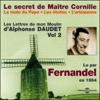 Alphonse Daudet - Le secret de Maître Cornille / La mule du Pape / Les étoiles / L'arlésienne (Les Lettres de mon Moulin 2) artwork