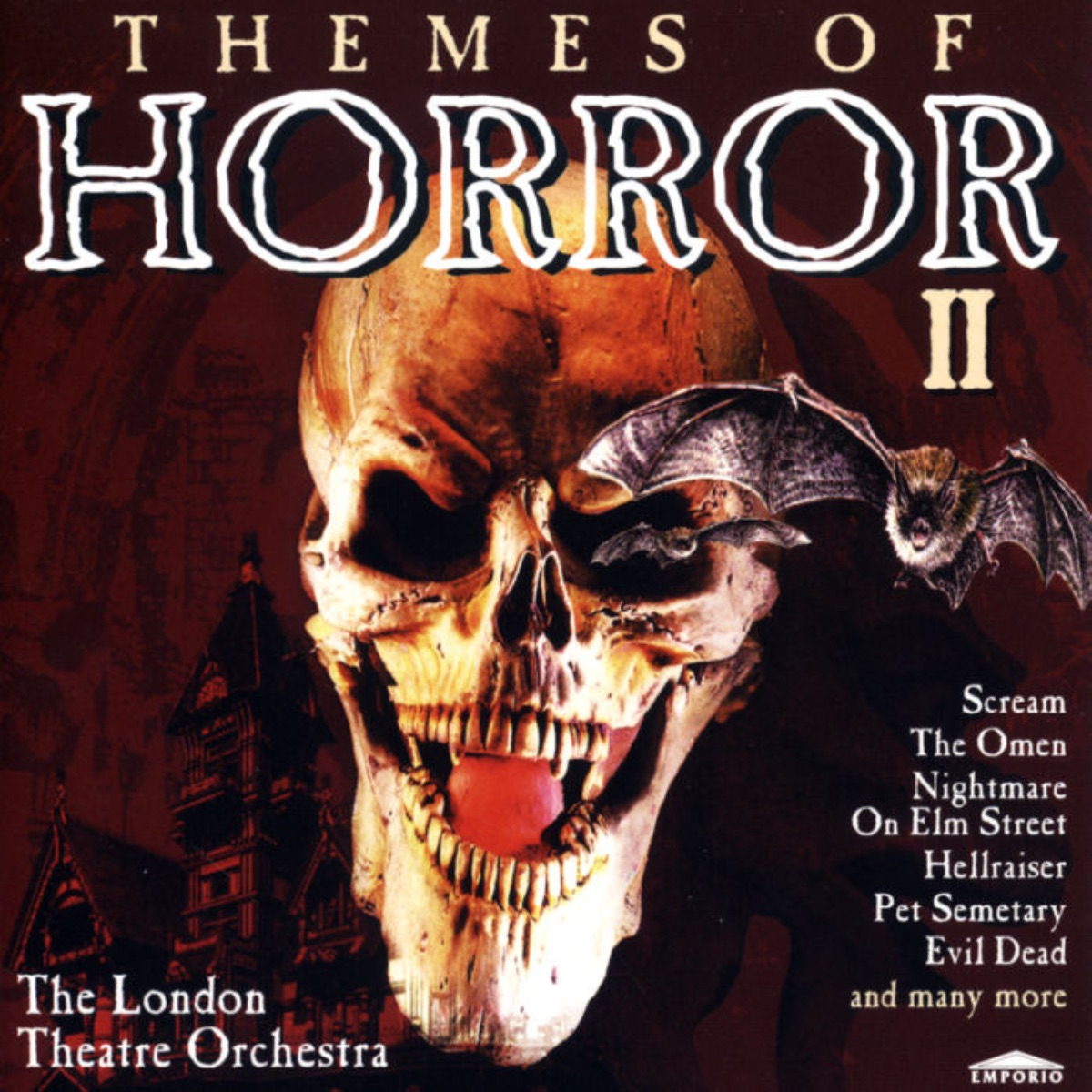 Themes of Horror 2 Halloween Album Cover by The London Theatre Orchestra