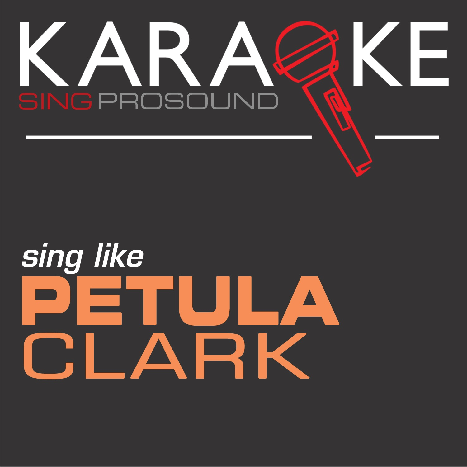 Karaoke in the Petula Clark - Single