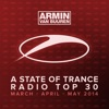 A State of Trance Radio Top 30 - March / April / May 2014