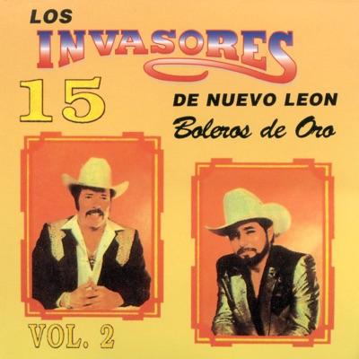 15 Boleros, Vol. 2 - Los Invasores de Nuevo León