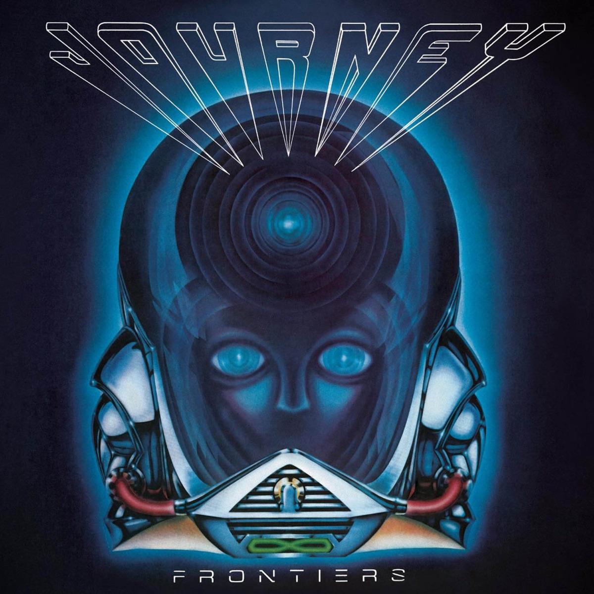 Frontiers Remastered Bonus Tracks Version Journey CD cover