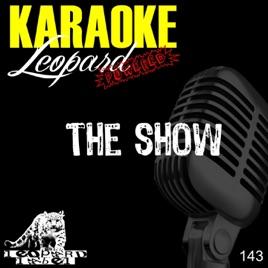 The show (acoustic karaoke) lenka youtube.