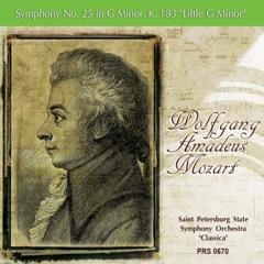 """Symphony No. 25 in G Minor, K. 183 """"Little G Minor"""": I. Allegro con brio"""