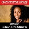 God Speaking Performance Tracks EP