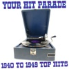 Your Hit Parade 1940 To 1949 Top Hits