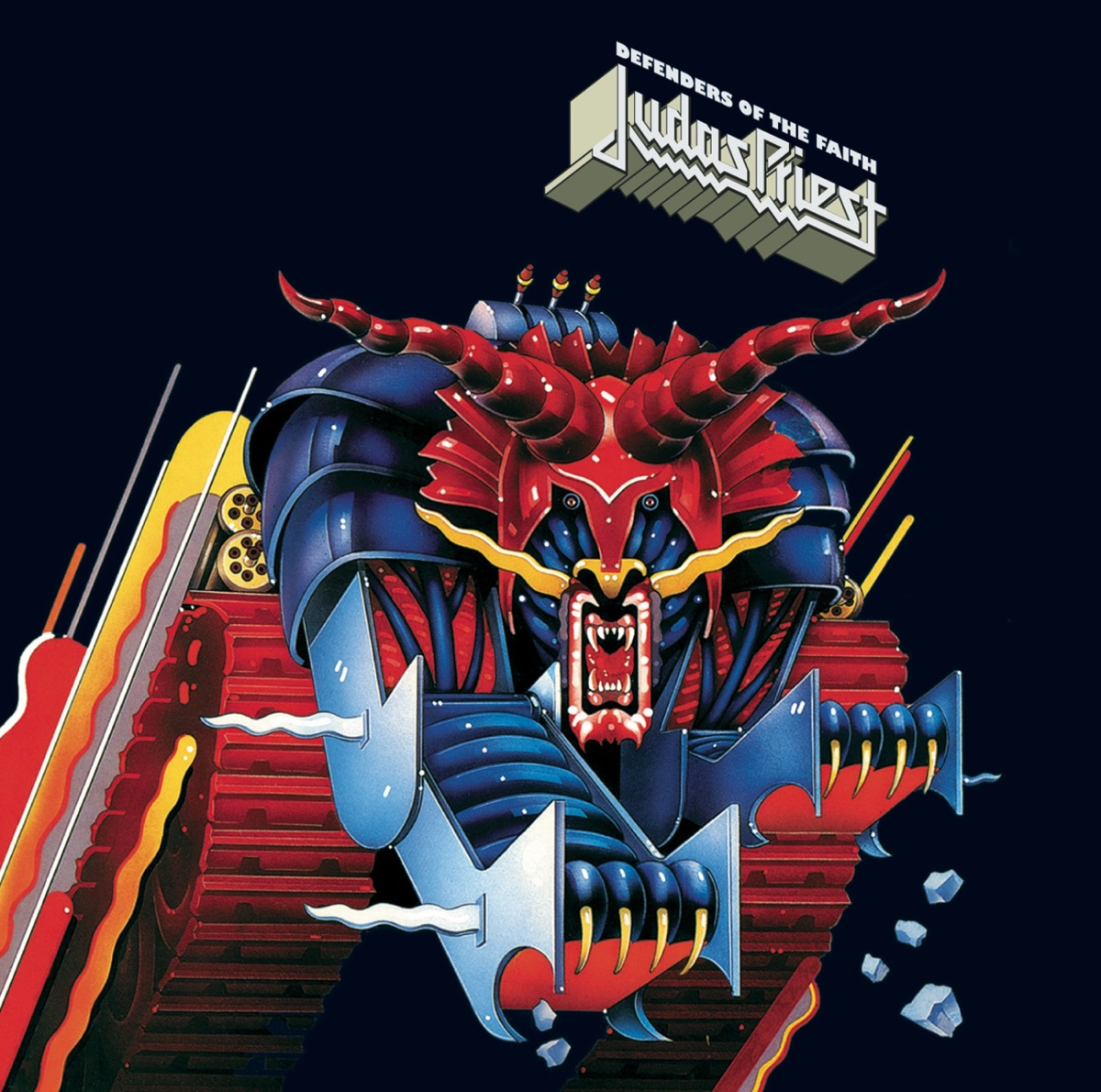 Defenders of the Faith Judas Priest CD cover