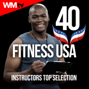 40 Fitness USA Instructors Top Selection (Unmixed Compilation for Fitness & Workout 128 - 160 BPM - Ideal for Running, Jogging, Step, Aerobic, CrossFit, Cardio Dance, Gym, Spinning, HIIT - 32 Count) - Various Artists