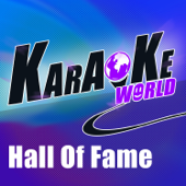 Download Karaoke World - Hall of Fame (Originally Performed by the Script Feat. Will.I.Am) [Karaoke Version]