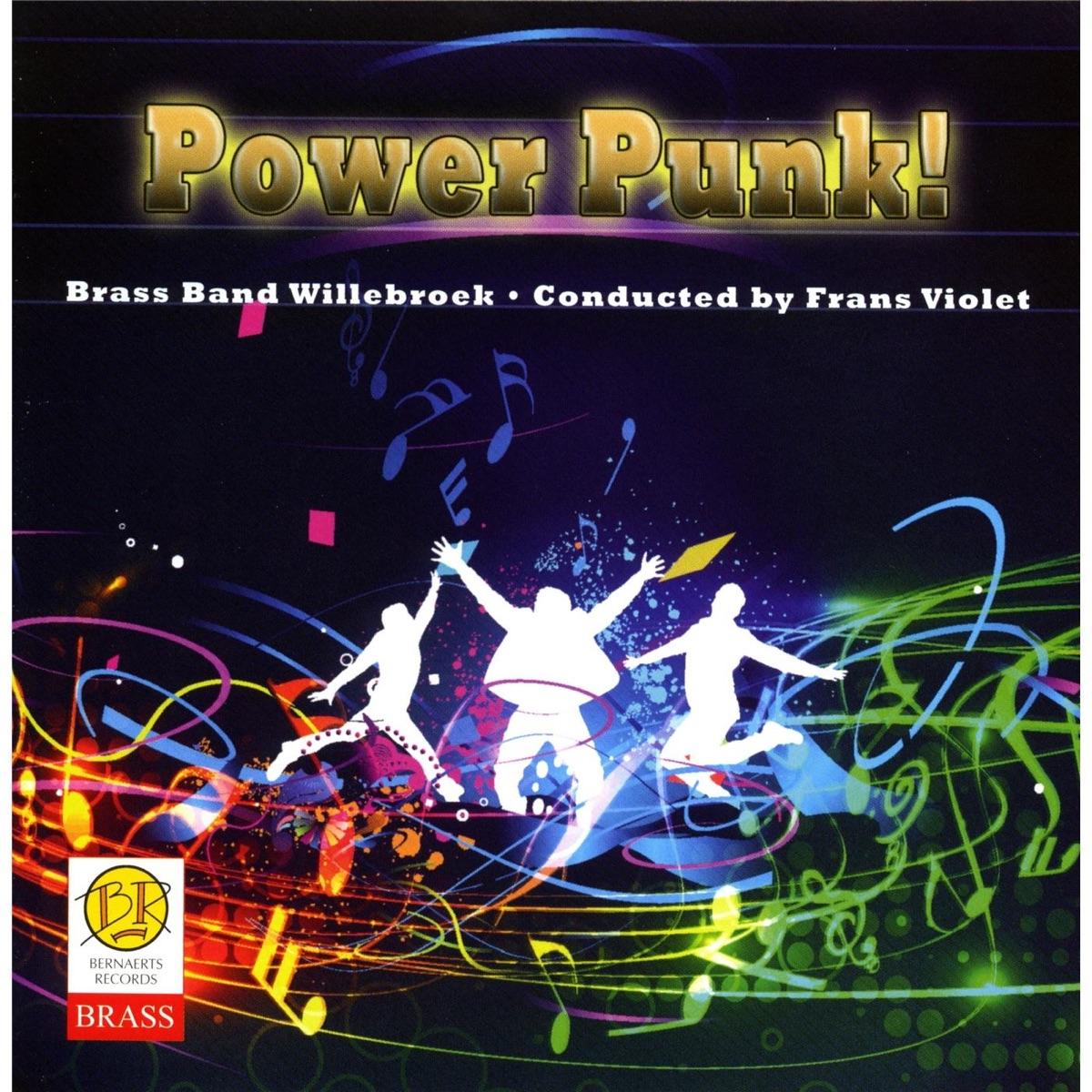 Power Punk Brass Band Willebroek CD cover