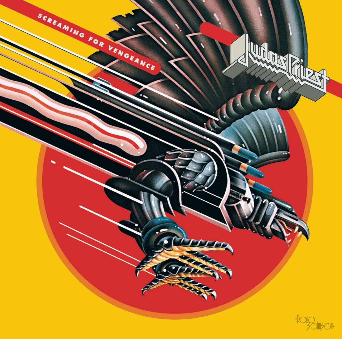 Screaming for Vengeance Judas Priest CD cover