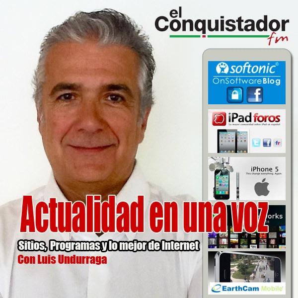 El Conquistador FM - con Luis Undurraga