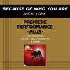 Vicki Yohe - Because of Who You Are artwork