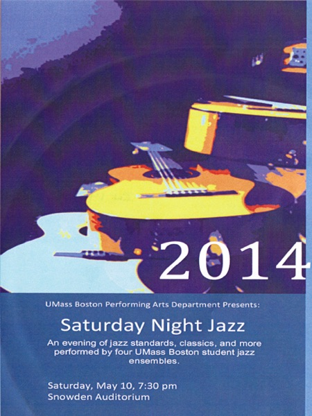 Saturday Night Jazz-Spring 2014