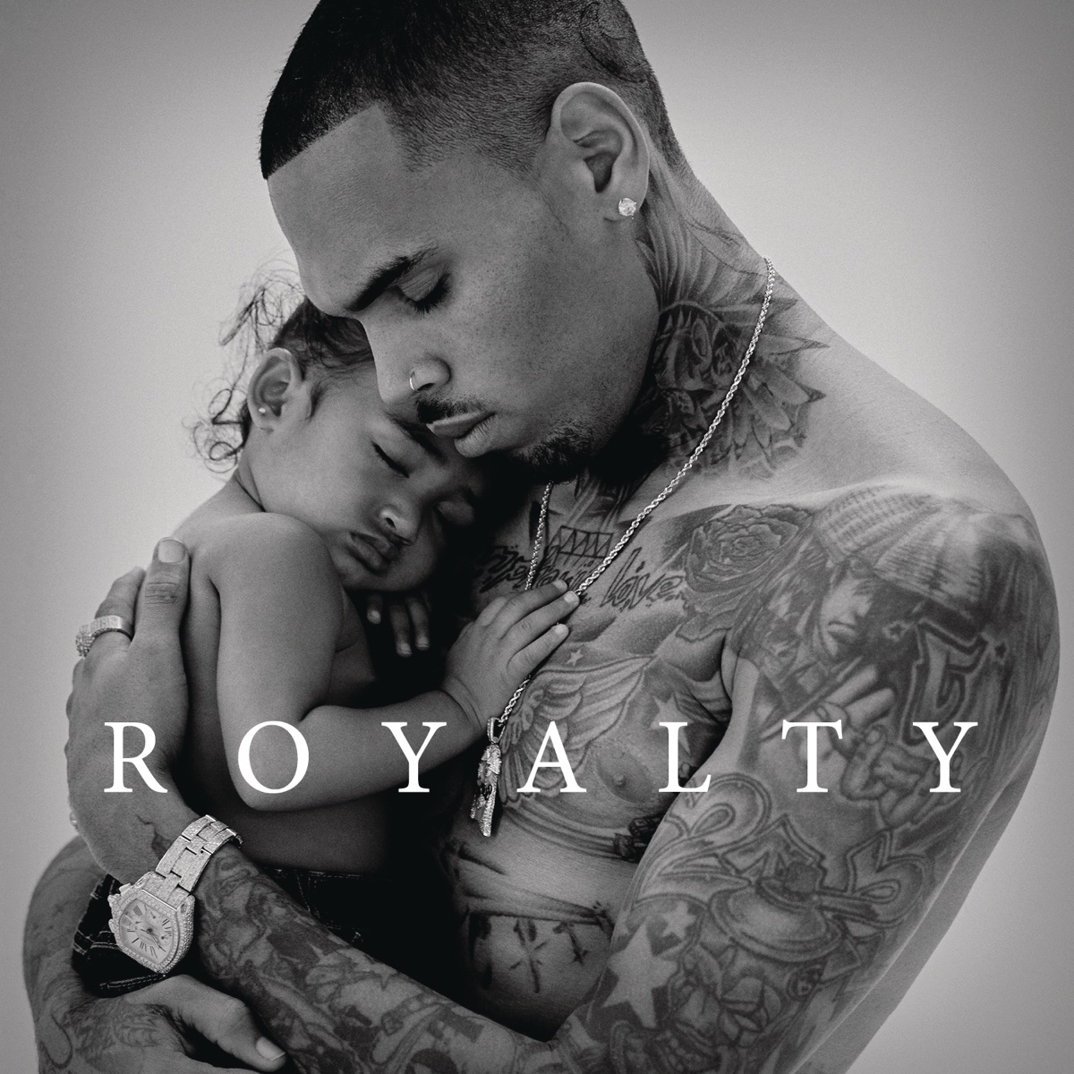 Royalty Deluxe Version Chris Brown CD cover