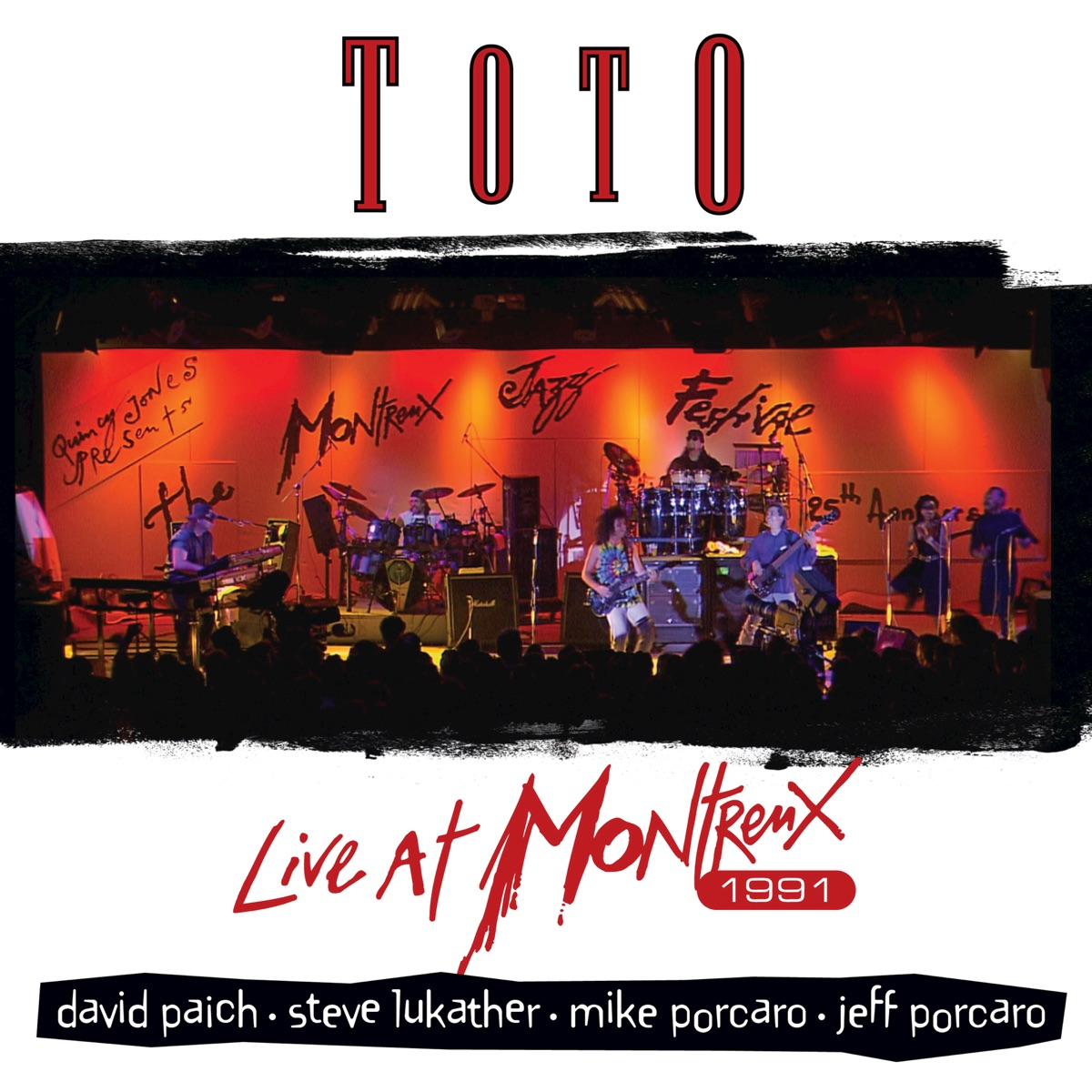 Live at Montreux 1991 Album Cover by Toto