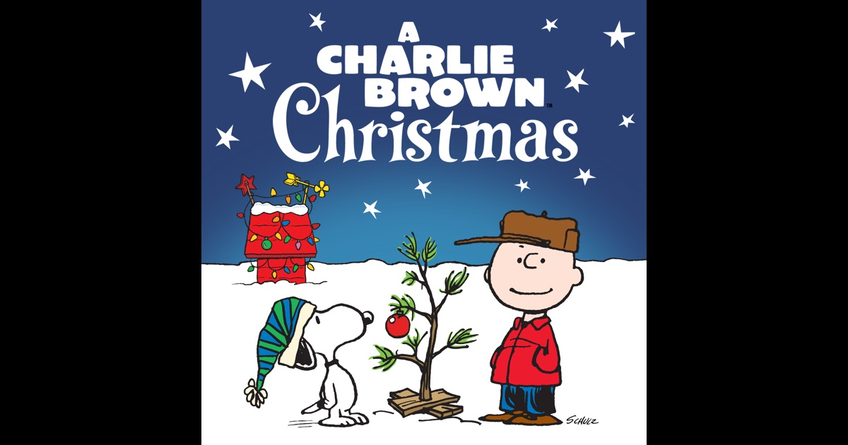 Charlie brown christmas on itunes