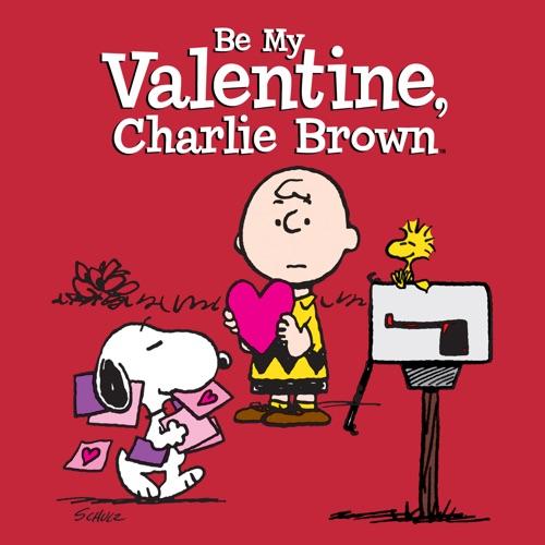 Be My Valentine, Charlie Brown poster