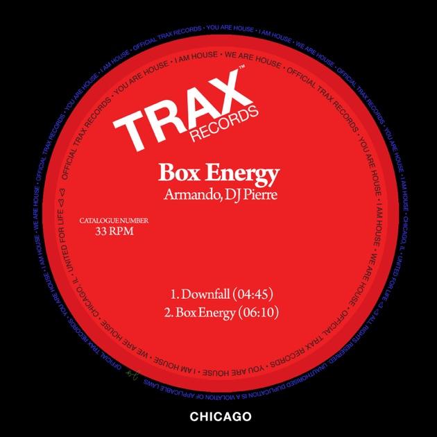 'Box energy' DJ Pierre