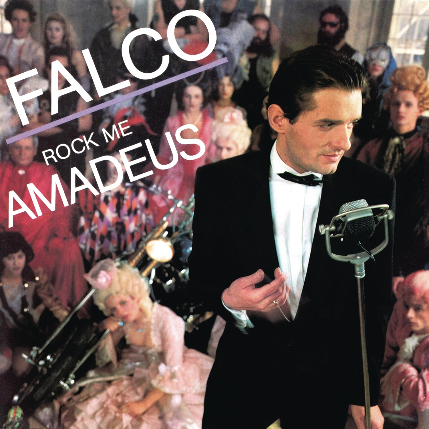 Cover art for Rock Me Amadeus